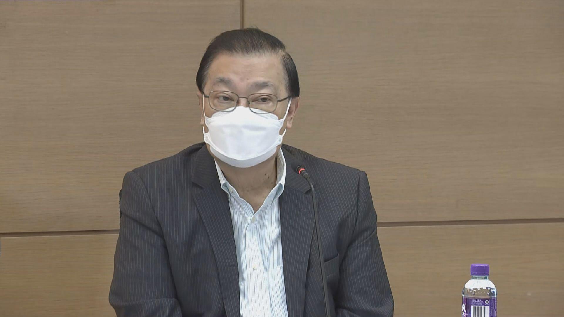 譚耀宗指資格審查委員會成員不應參加選舉