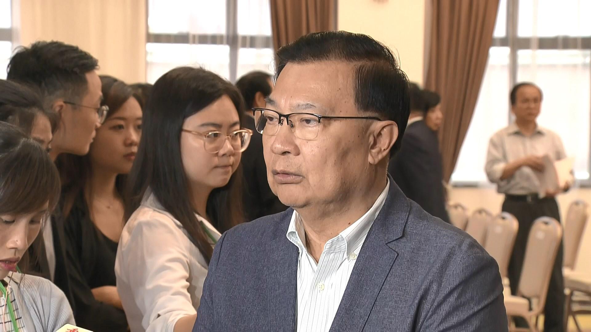 譚耀宗:不應再延續「撤回」等字眼爭議