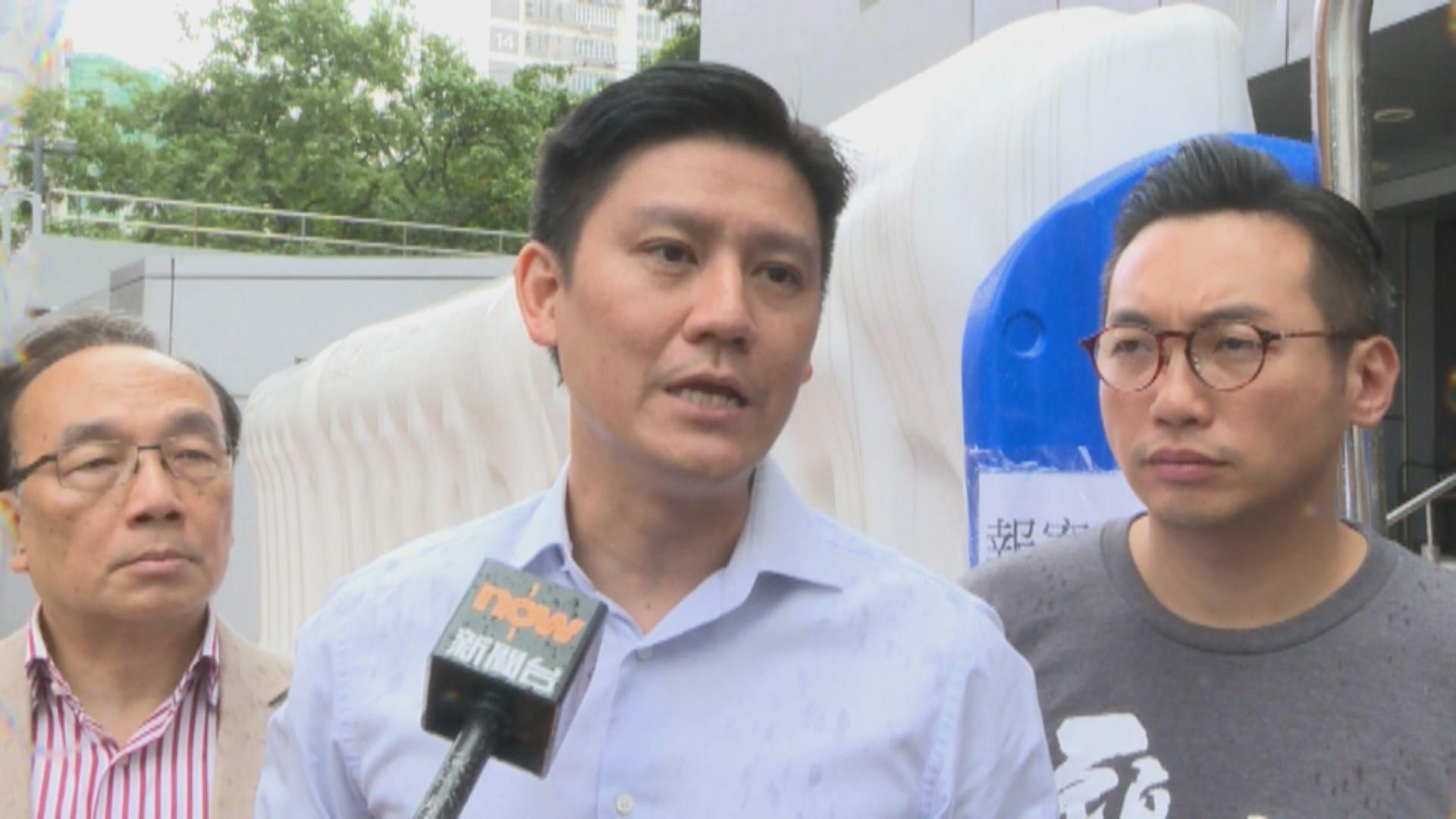 譚文豪獲保釋 質疑遭政治檢控