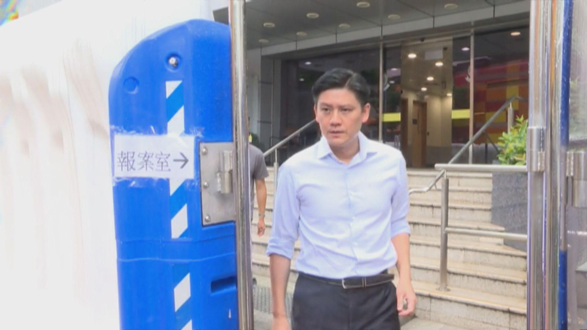 譚文豪區諾軒獲准保釋 鄭松泰仍被扣查