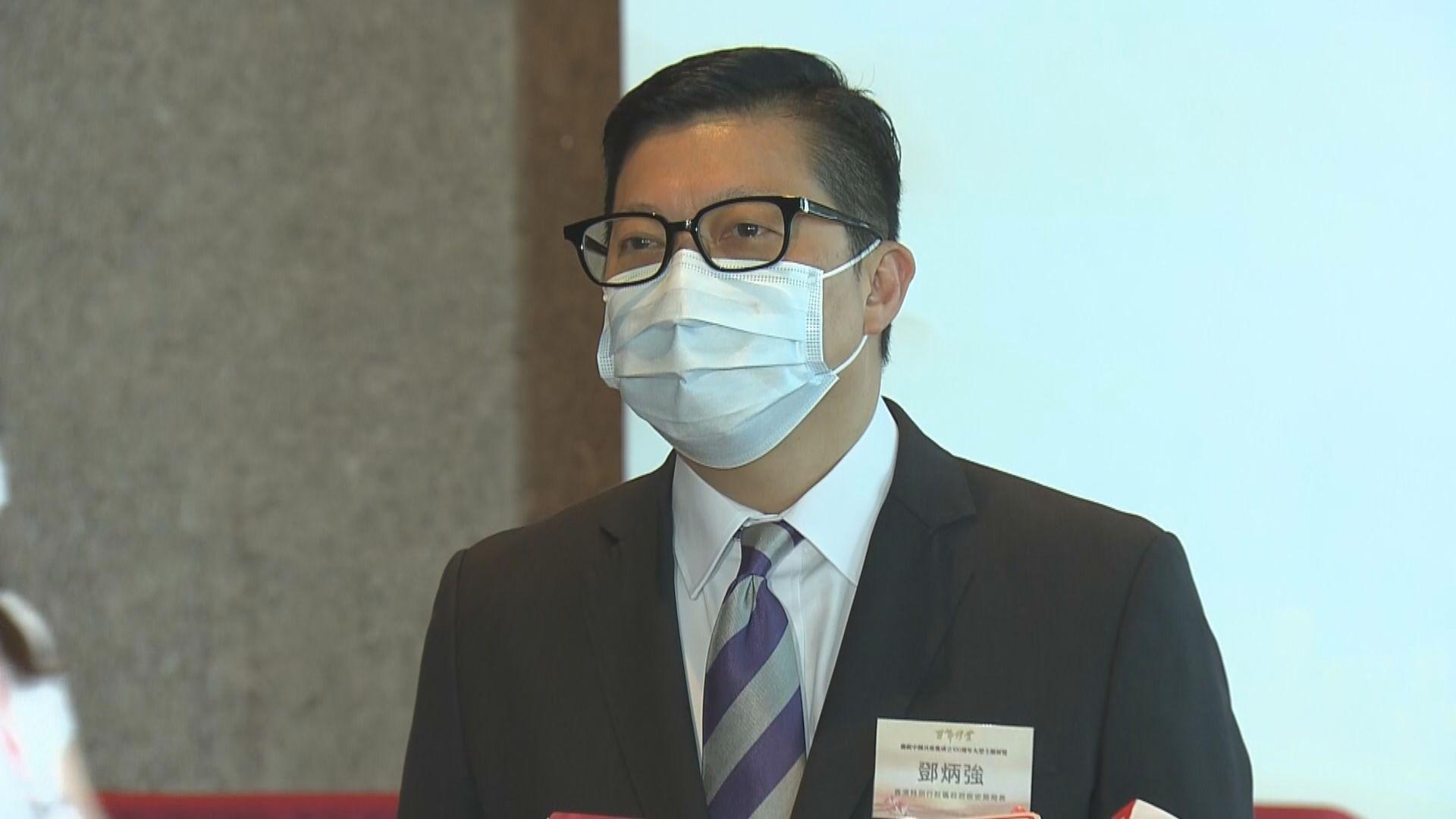 鄧炳強:悼念襲警疑犯為美化暴力及恐怖主義