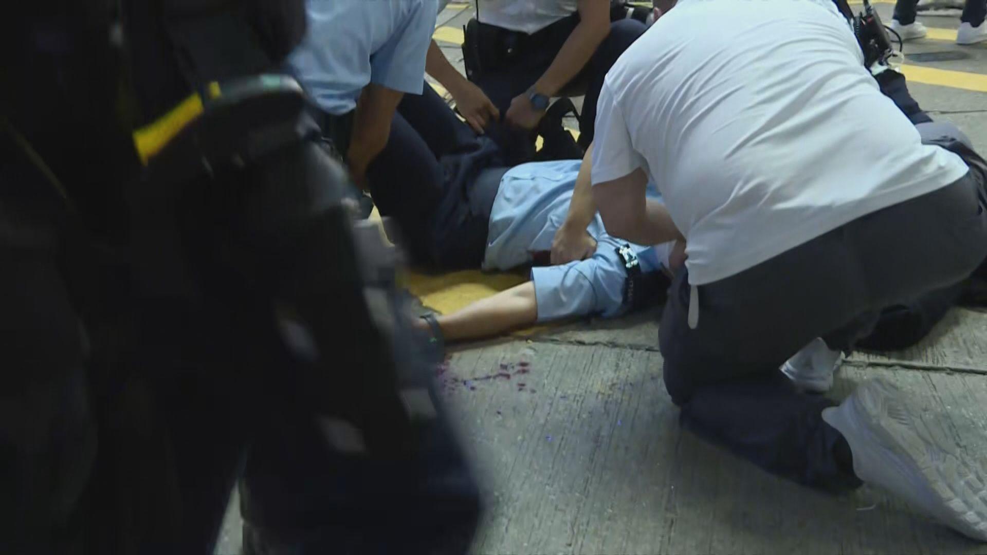 市民悼襲警疑犯 鄧炳強:美化恐怖主義令人心寒