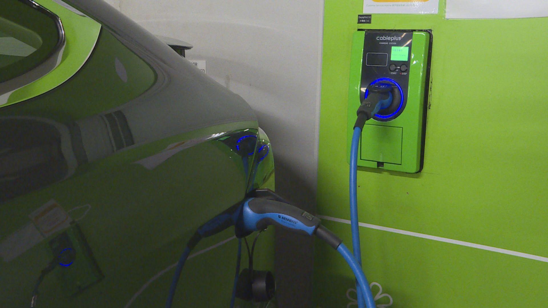 政府延長電動車首次登記稅寬減安排三年