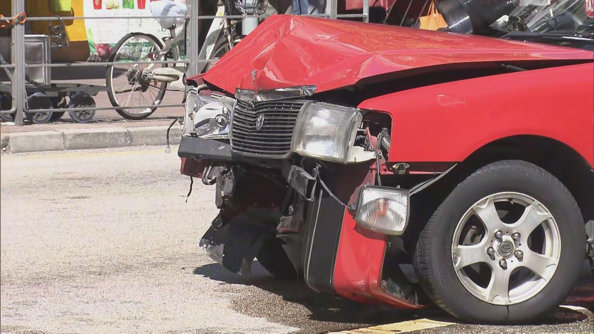 大埔的士車禍多一人死亡 四人仍留醫