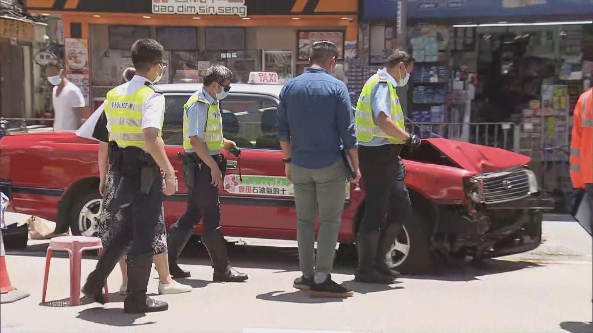 大埔的士車禍多一人死亡 涉事的士有待驗車