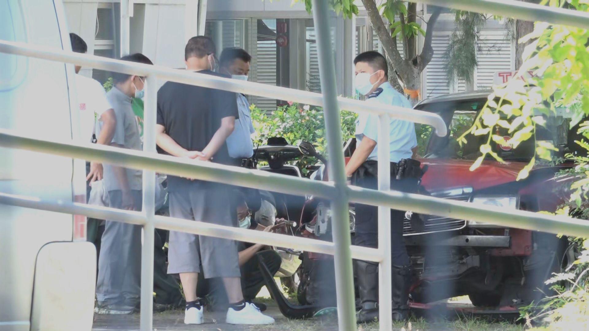 警方續調查大埔的士撞途人車禍