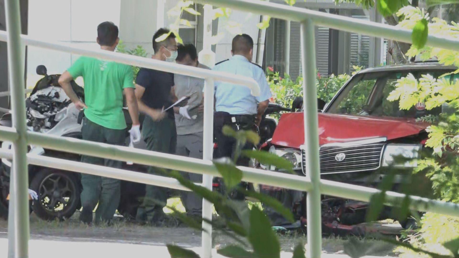 警方續查大埔的士車禍 再多一名婦人不治