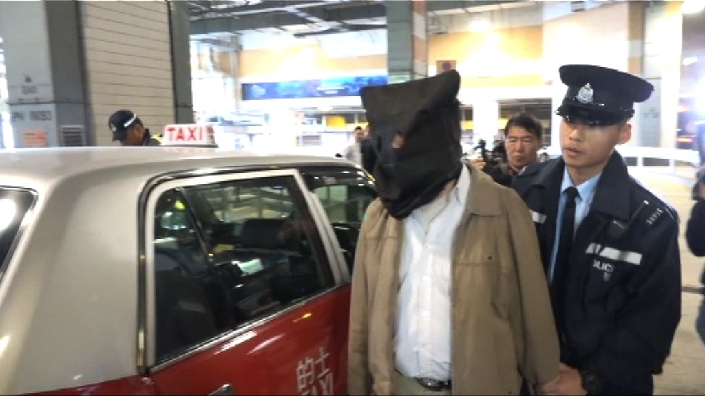 警打擊的士濫收車資 拘一人