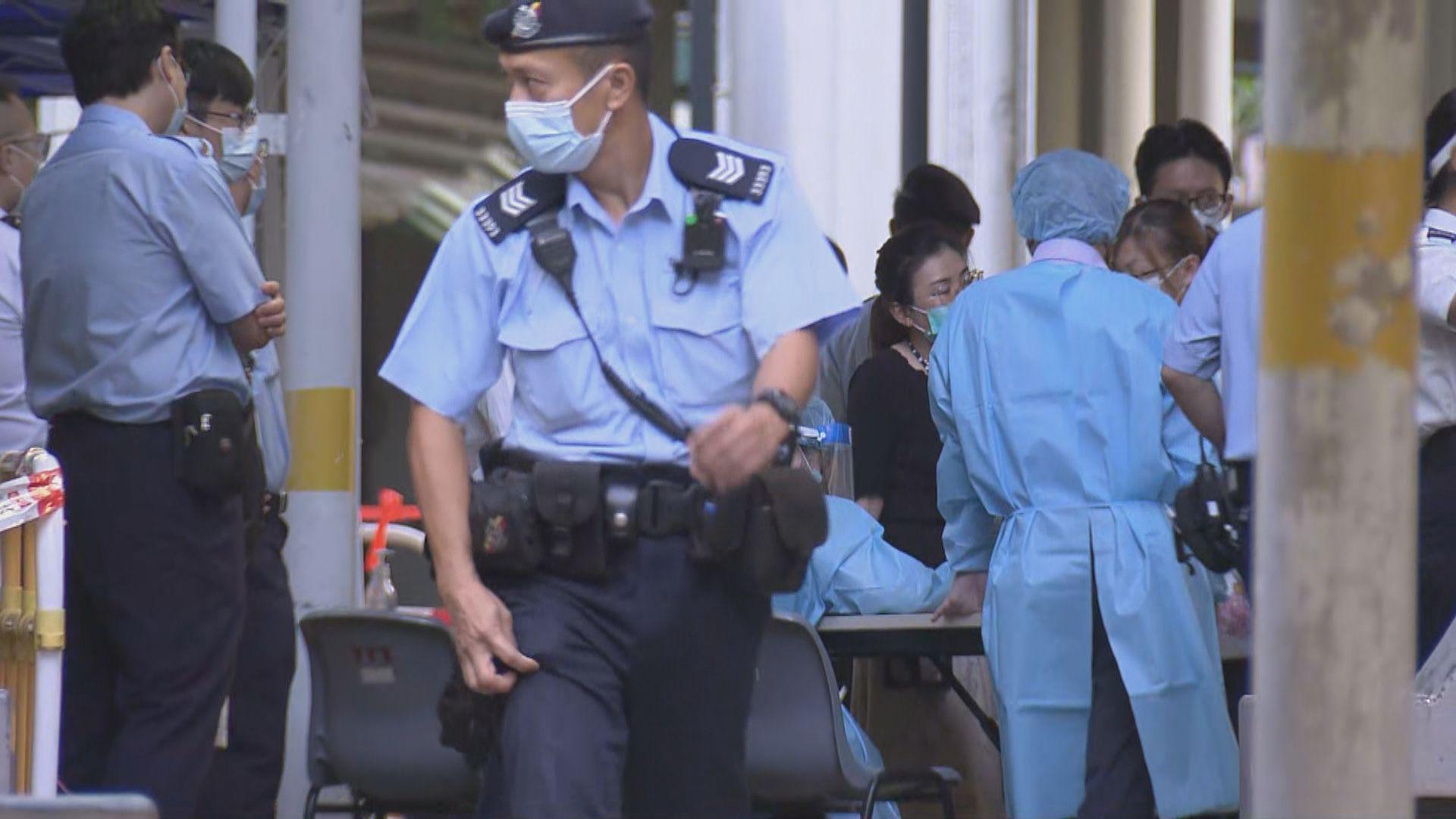 東涌逸東邨美逸樓1609人檢測 無發現確診個案