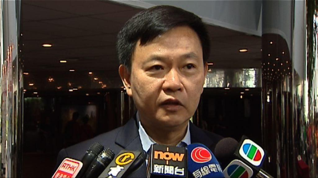 醫管局支持陳肇始任食衞局長