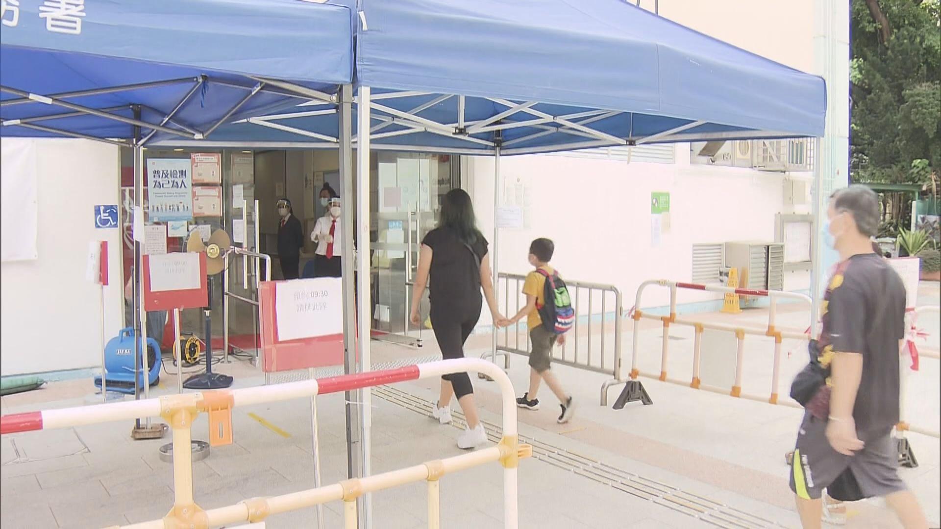 57個檢測中心運作至明日 有中心人流疏落