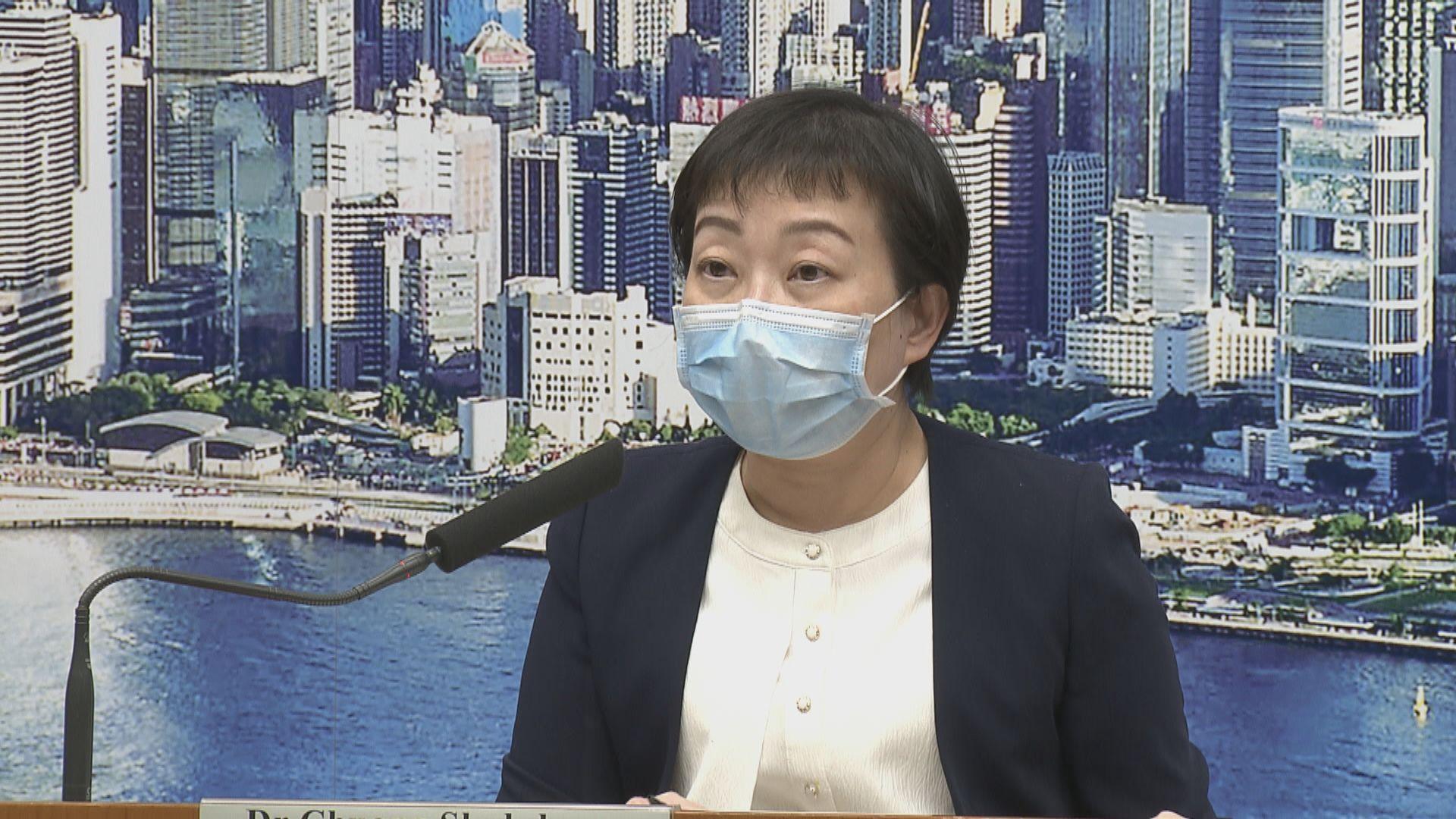 張竹君:醫療廢物定義由環保署決定 一般病房廢物不屬於醫療廢物
