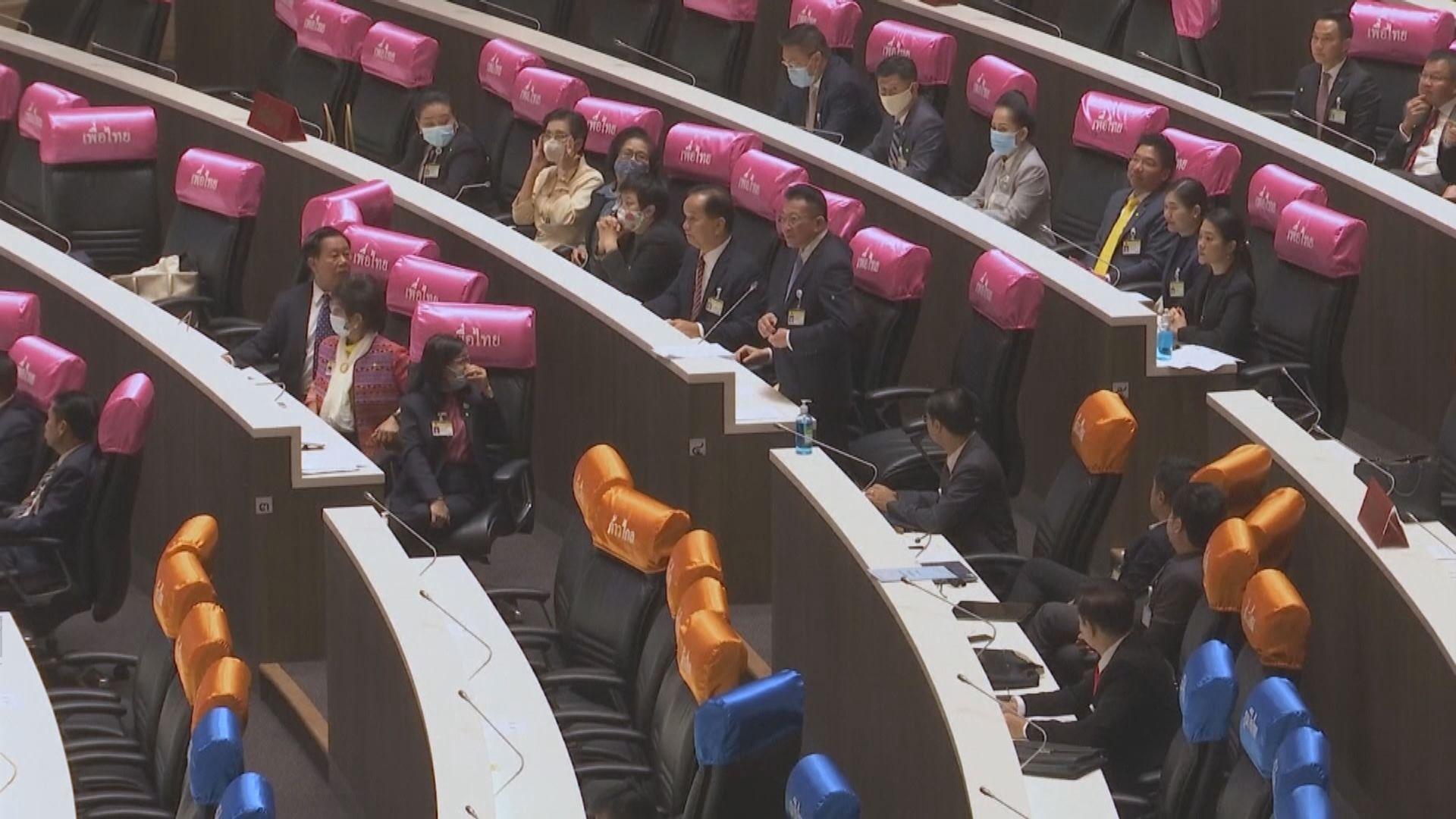 泰國最大反對黨為泰黨領袖要求巴育下台