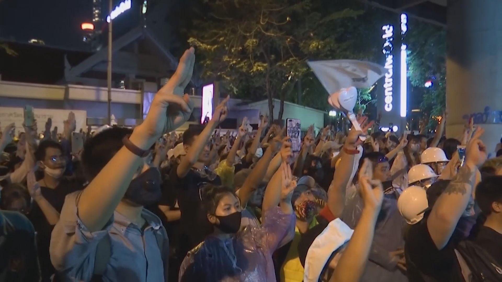 泰總理巴育指會用所有法律平息示威