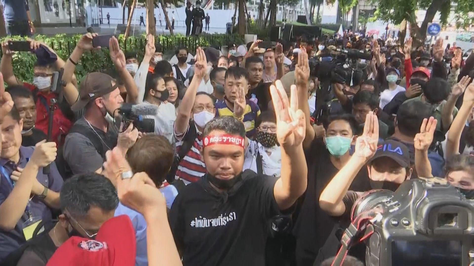 泰國反政府示威升級 曼谷實施緊急狀態
