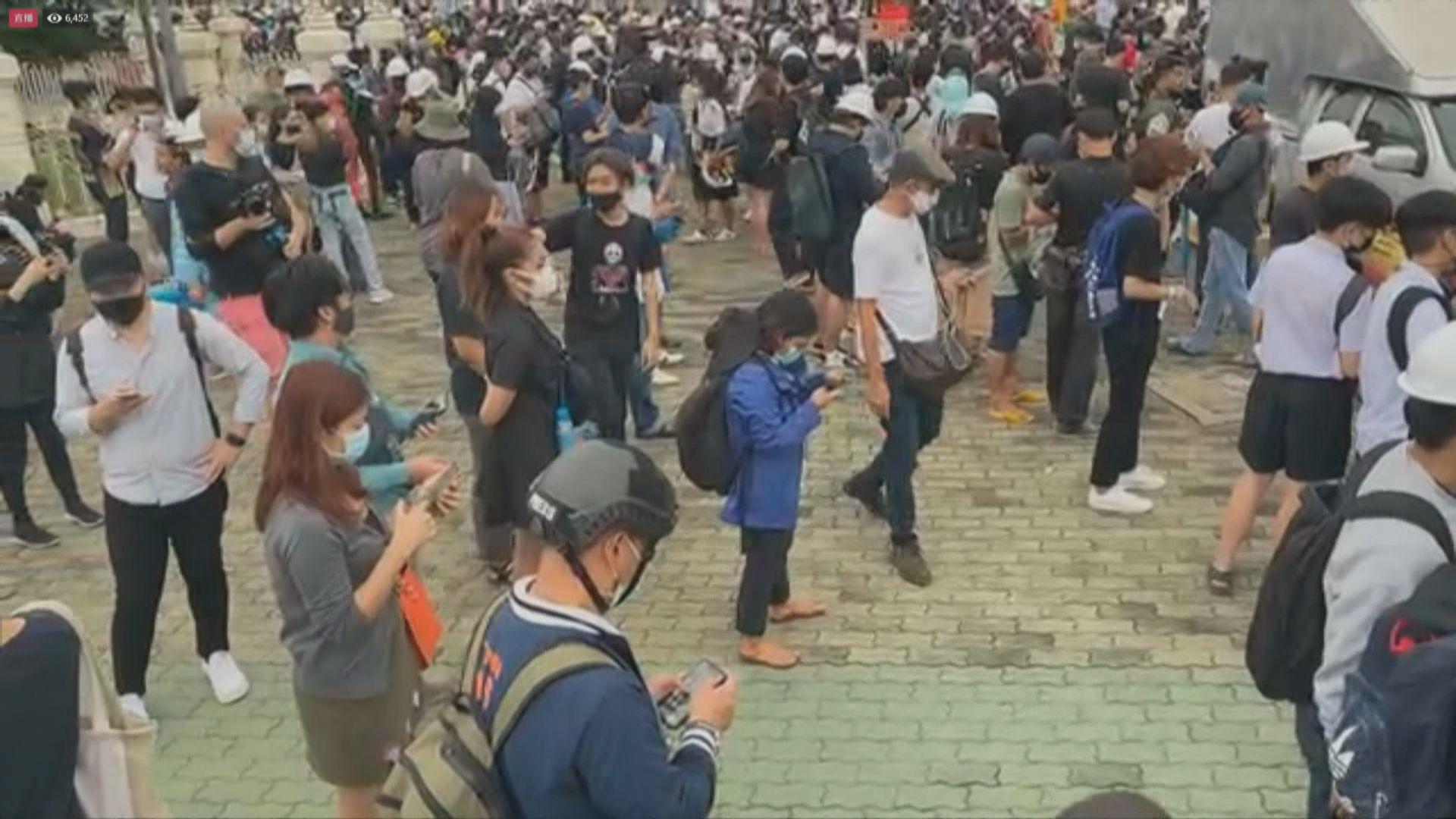 泰國示威組織號召民眾到曼谷多處集會