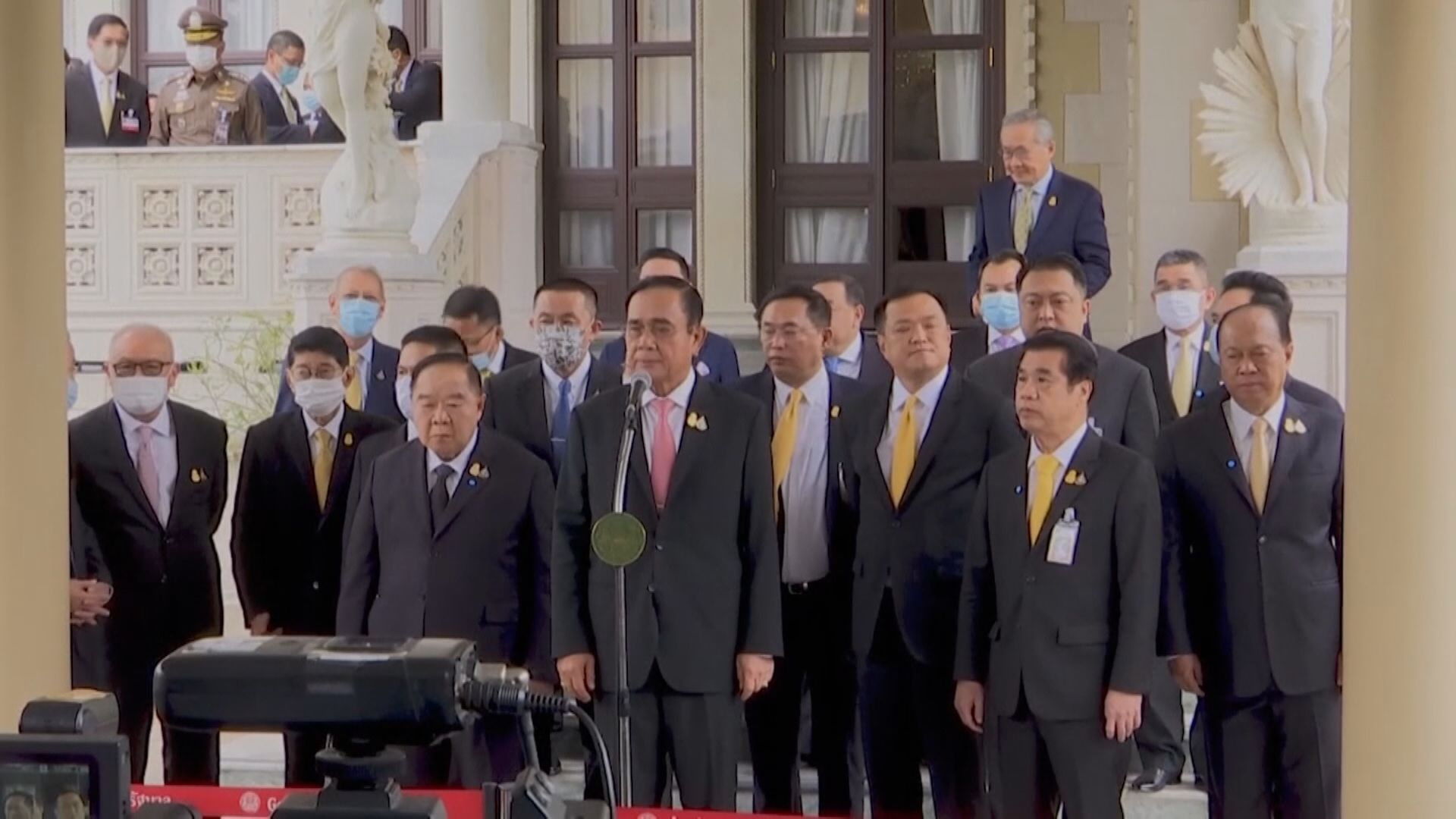 泰總理巴育拒辭職 召開國會緊急會議應對
