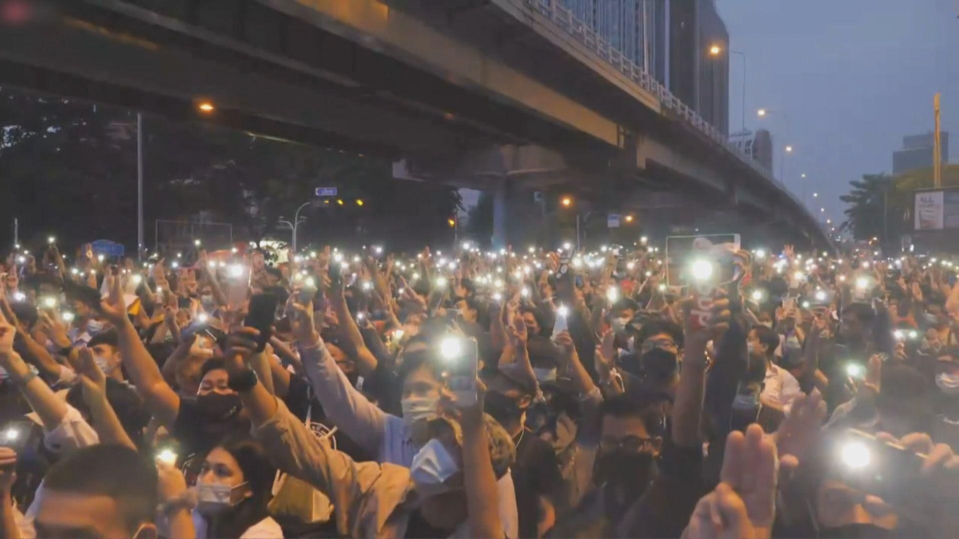 泰國反政府示威持續 反對派向德國大使館發出公開信