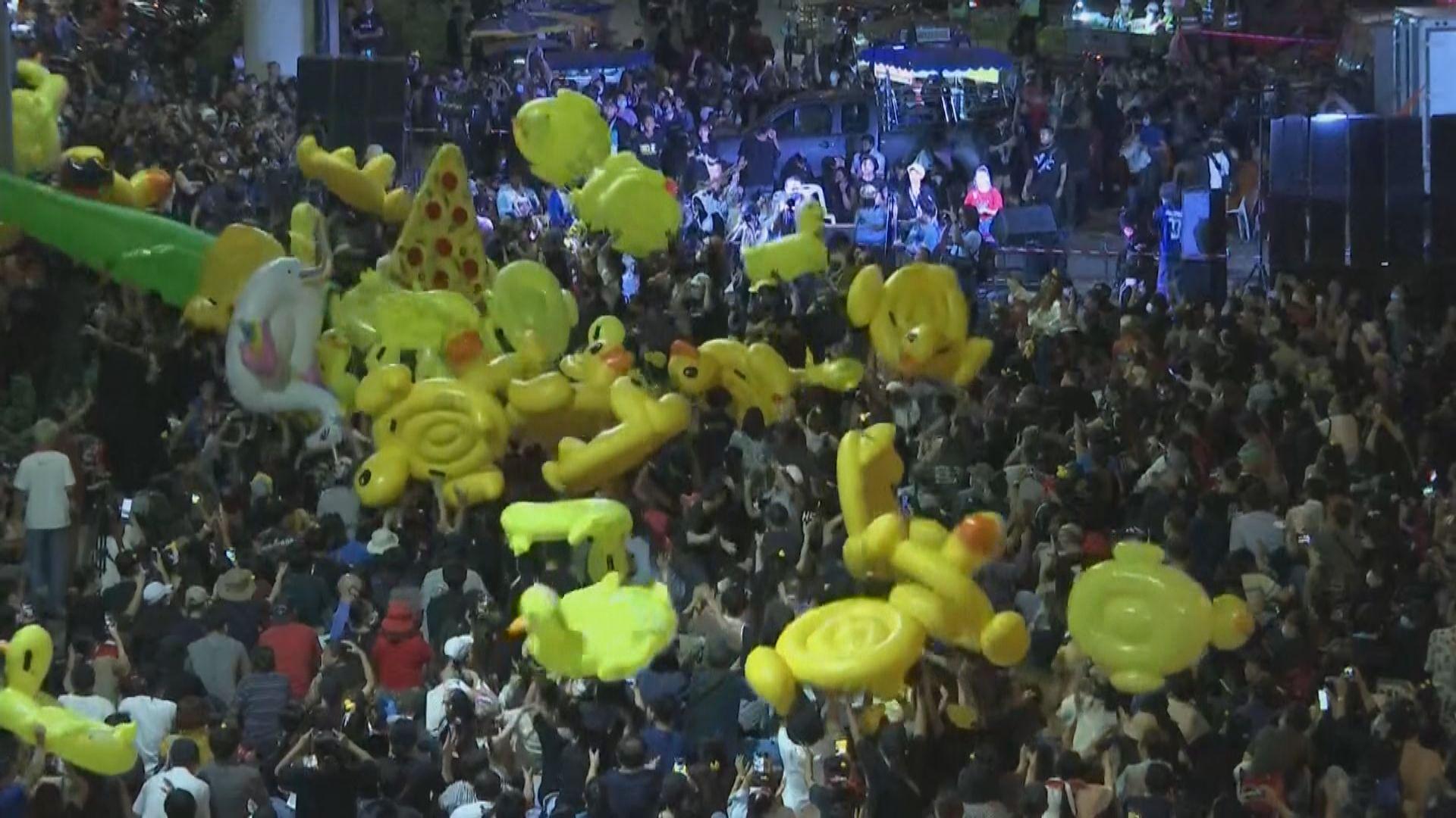 曼谷有反政府集會要求總理巴育下台