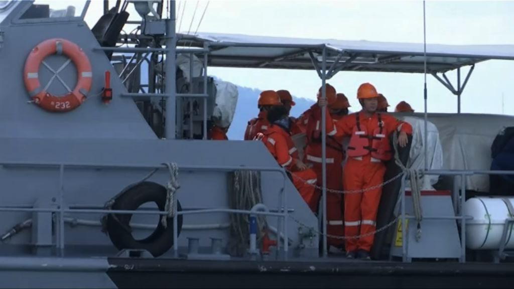 泰軍方指未具備條件打撈鳳凰號
