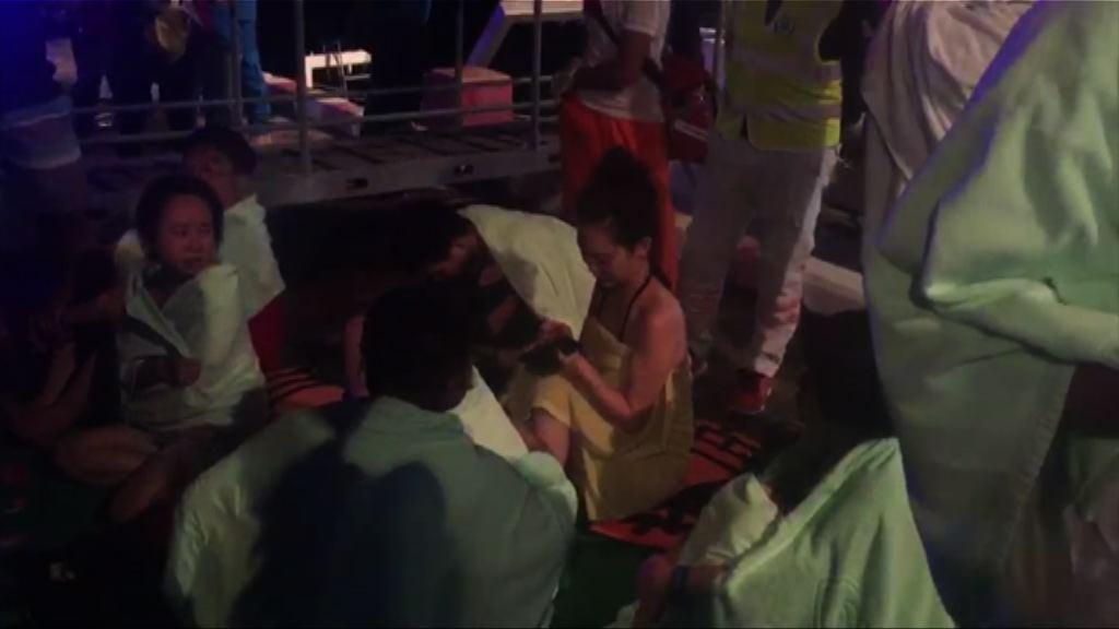 布吉兩遊船沉沒 至少4名中國遊客死