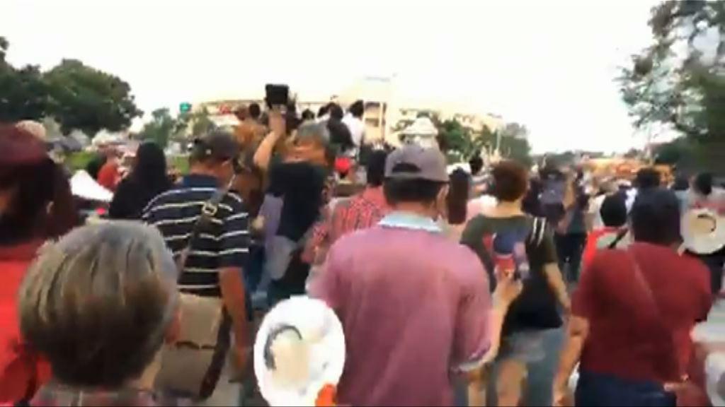 泰民眾示威冀軍方不再支持巴育