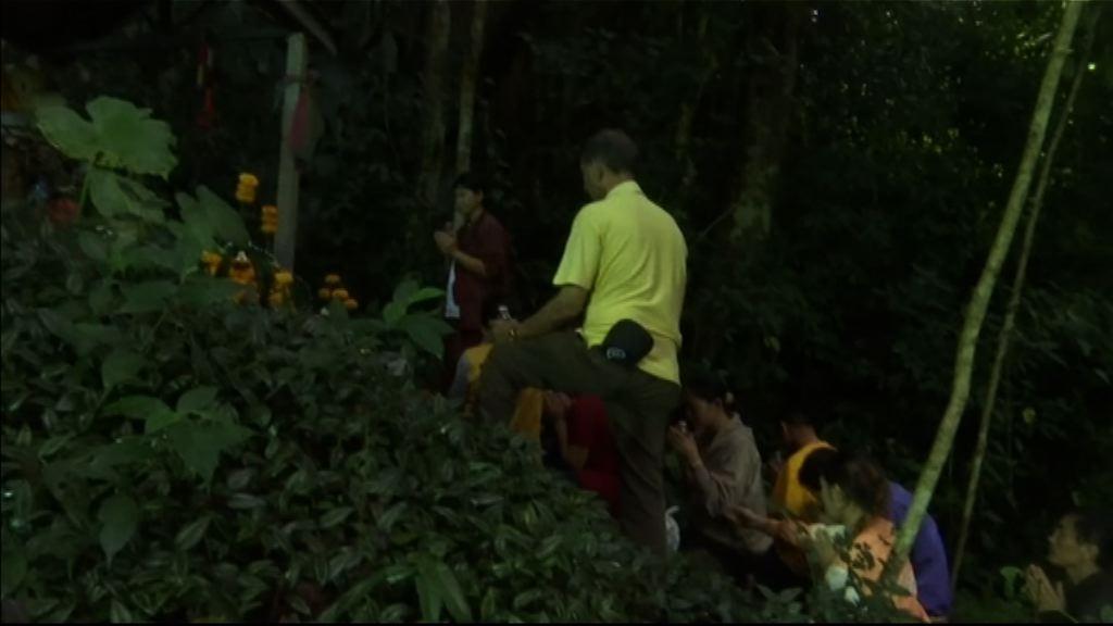 泰國續搜索疑被困洞穴內少年