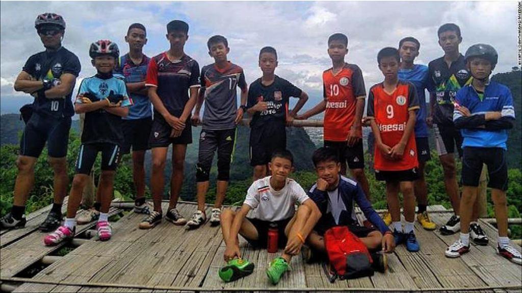 泰政府指找到清萊洞穴失蹤少年