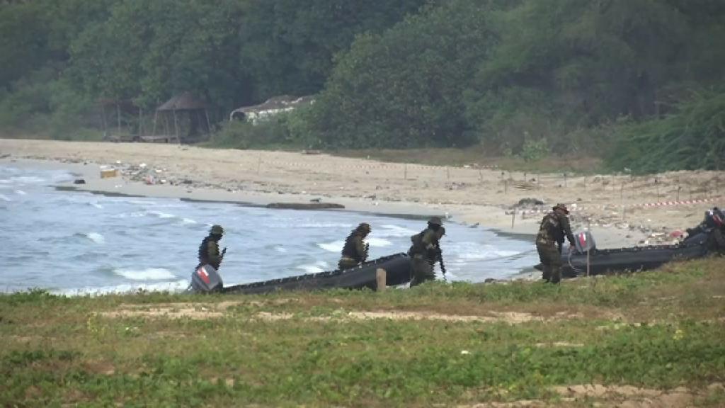 南韓參與泰美搶灘登陸演習