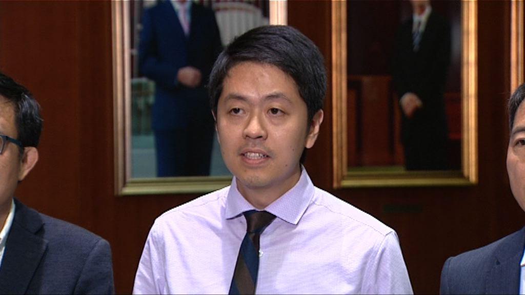 許智峯發信向保安局女職員道歉