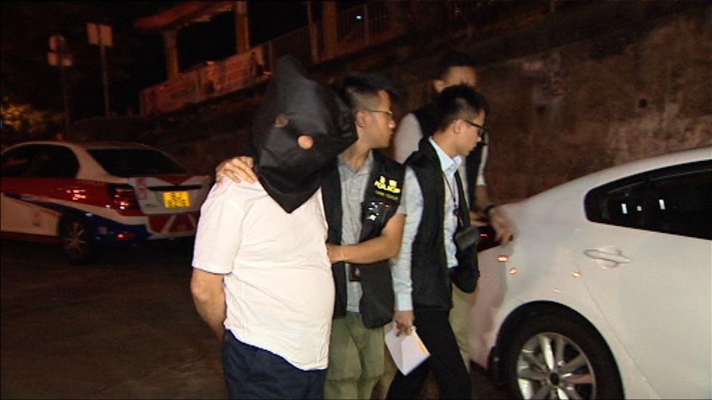 警方拘三男女涉港島多宗偷竊案