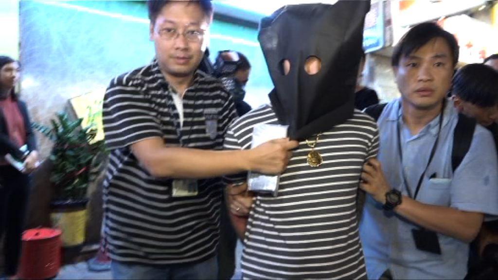 警方深水埗破盜竊集團拘九人