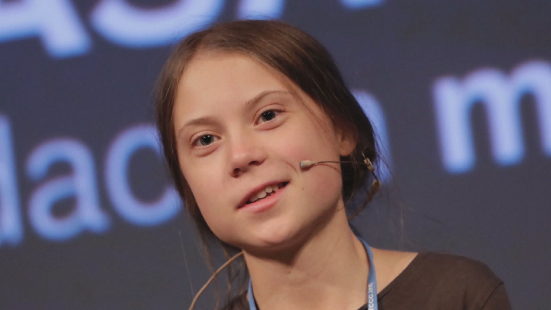 通貝里指應將獎項獻給年青氣候變化活躍分子
