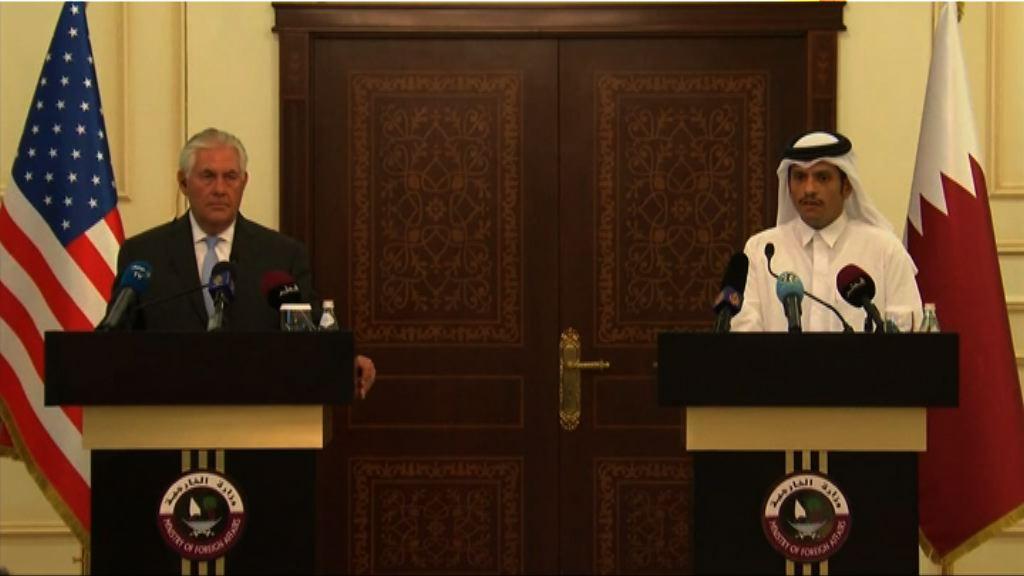 美國與卡塔爾簽協議對抗恐怖主義