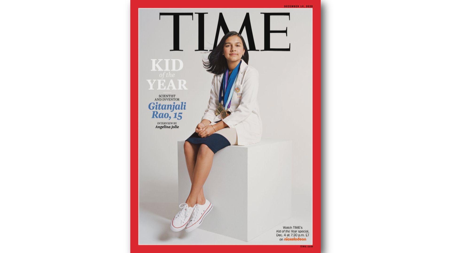 15歲美國少女膺《時代》雜誌首屆風雲兒童