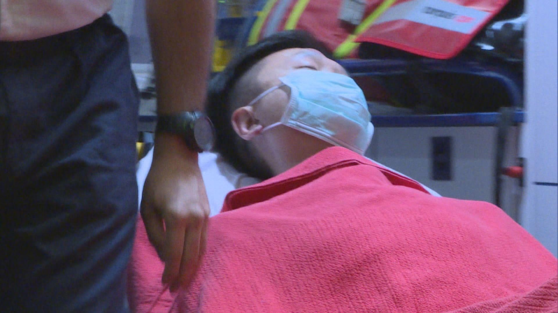 本台車長中彈受傷 被扣兩小時後獲釋送院