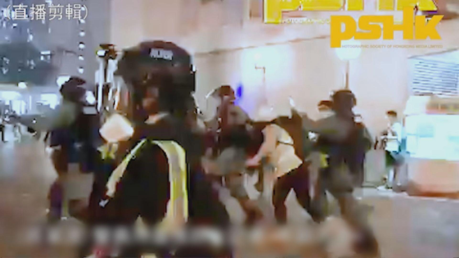 有線記者被警推跌受傷 要求交代涉事警身分