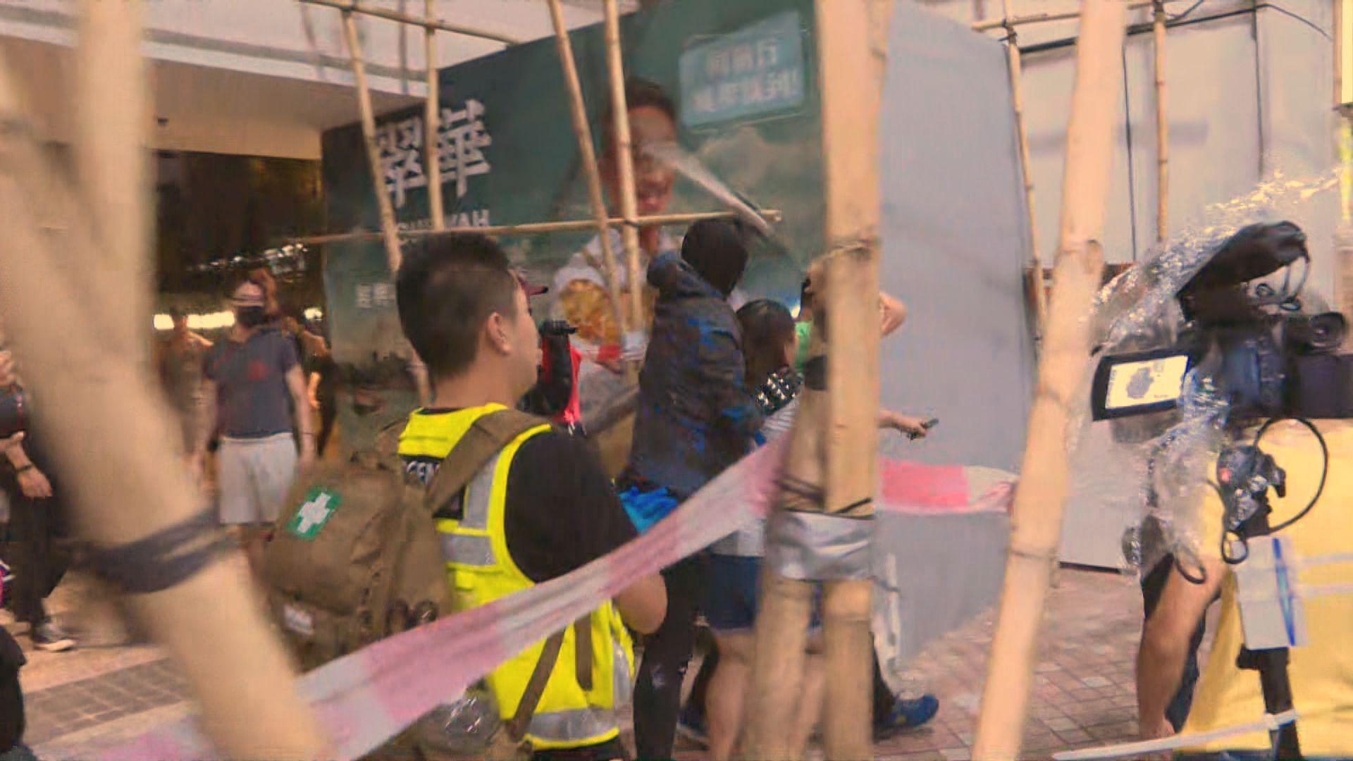 將軍澳有居民疑與示威者爭執遭人襲擊