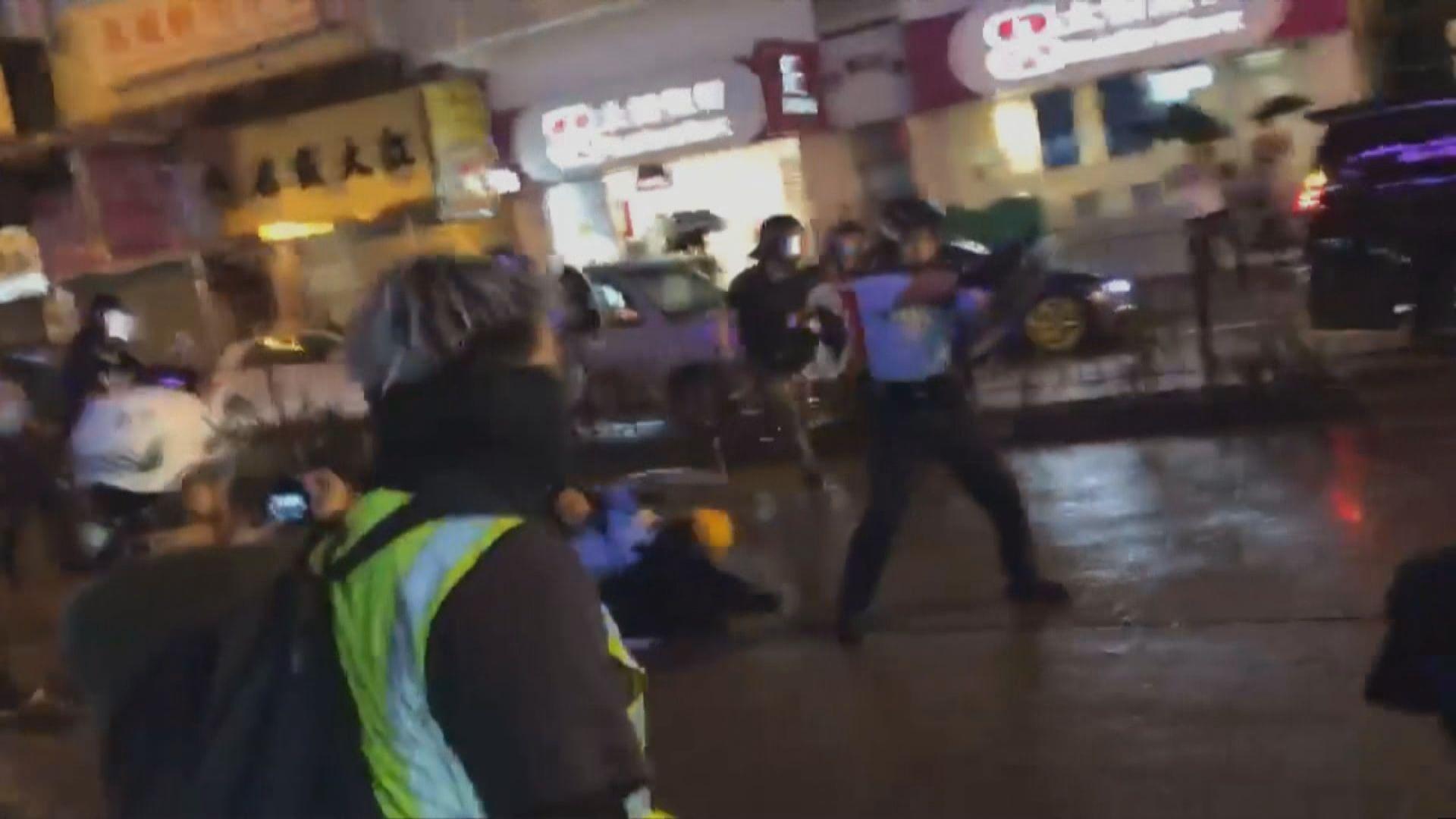 警方指警員向天開槍是必須和合理