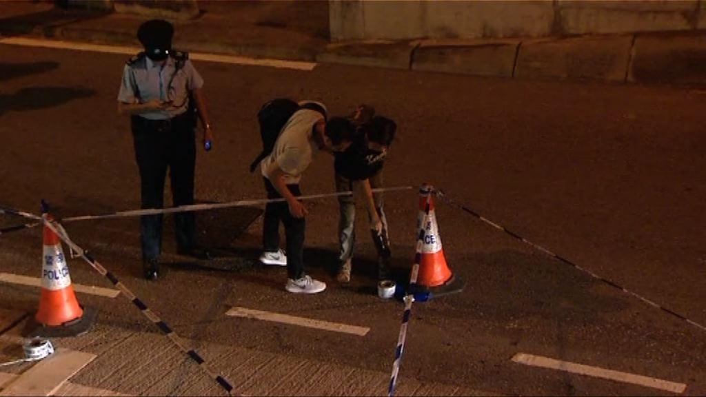 屯門青海圍發生警察開槍案