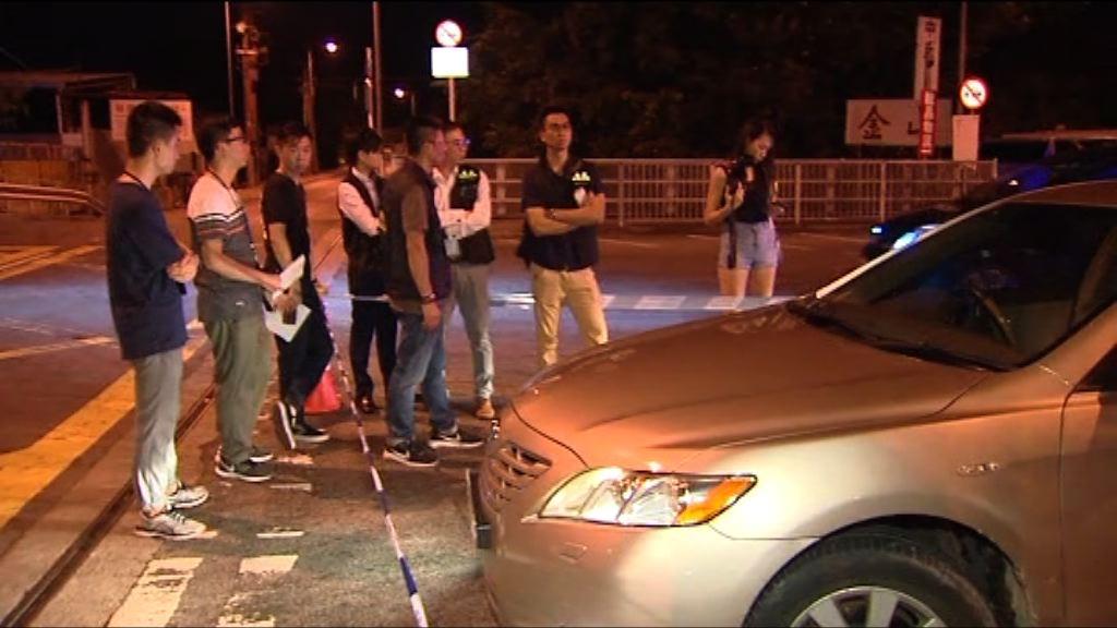 屯門發生警察開槍案 一警長擦傷