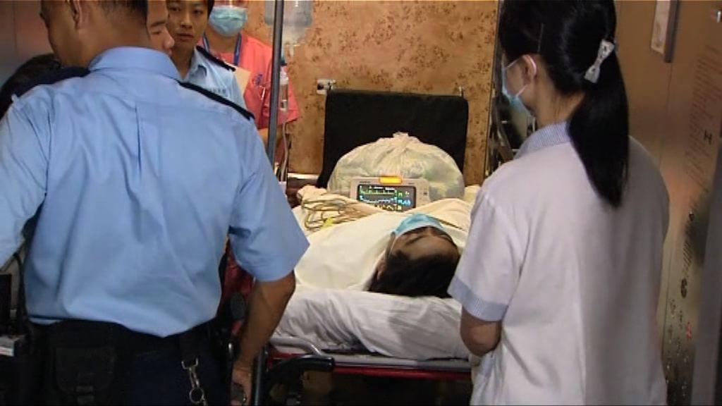 屯門警開槍案 一男子疑受槍傷自行求醫後被捕