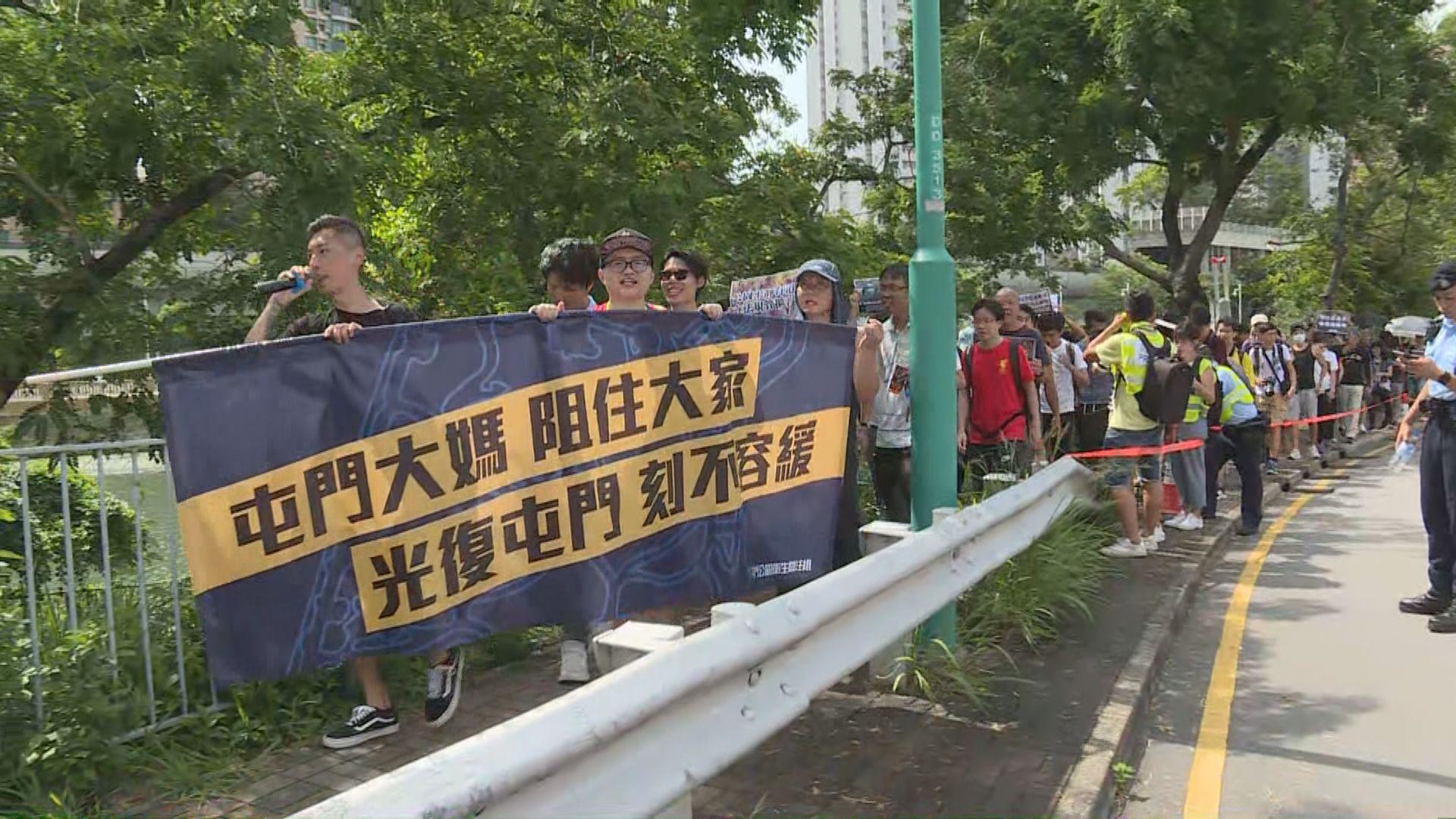 警方反對周六光復屯門公園遊行