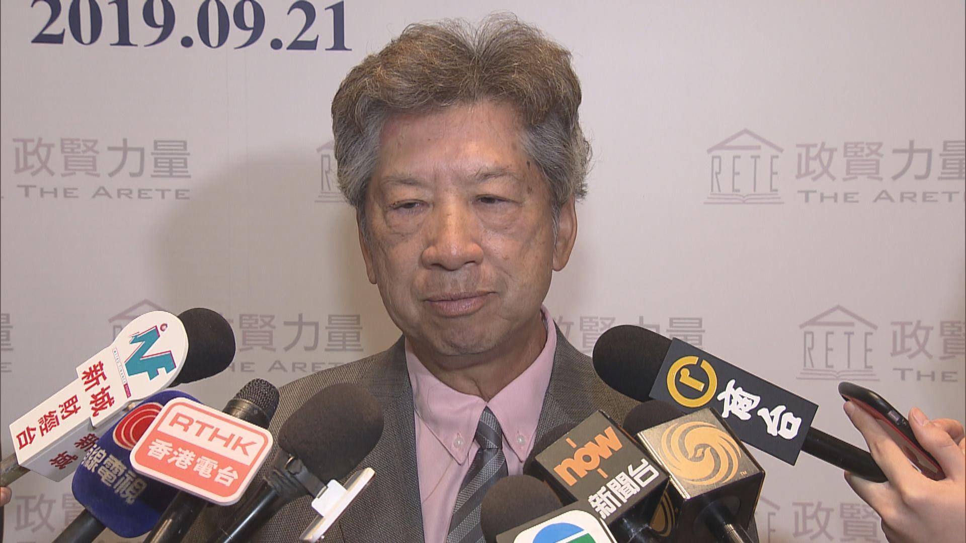 湯家驊:政府會否讓步要視乎社會轉變