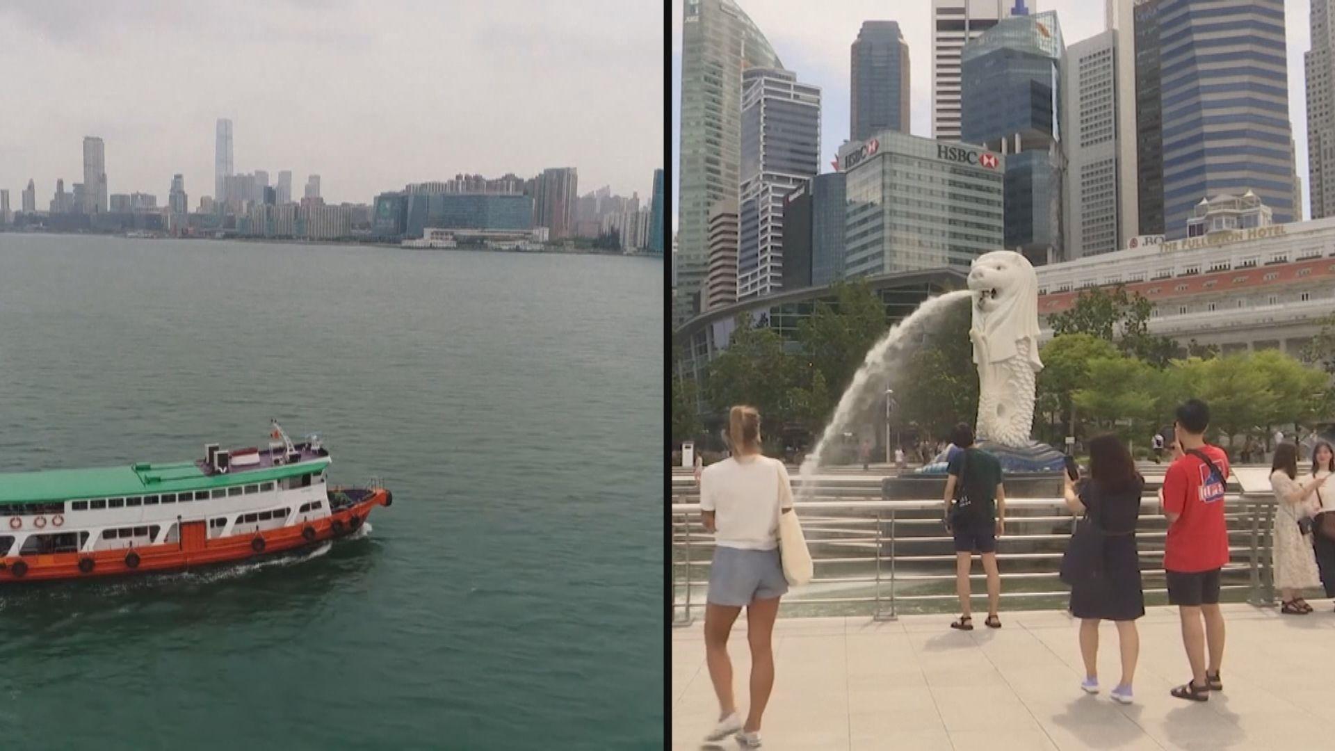 消息:港府冀下周公布星港旅遊氣泡安排 最快下月底重啟