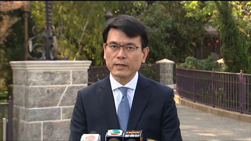 邱騰華:今年首11個月訪港旅客升3%
