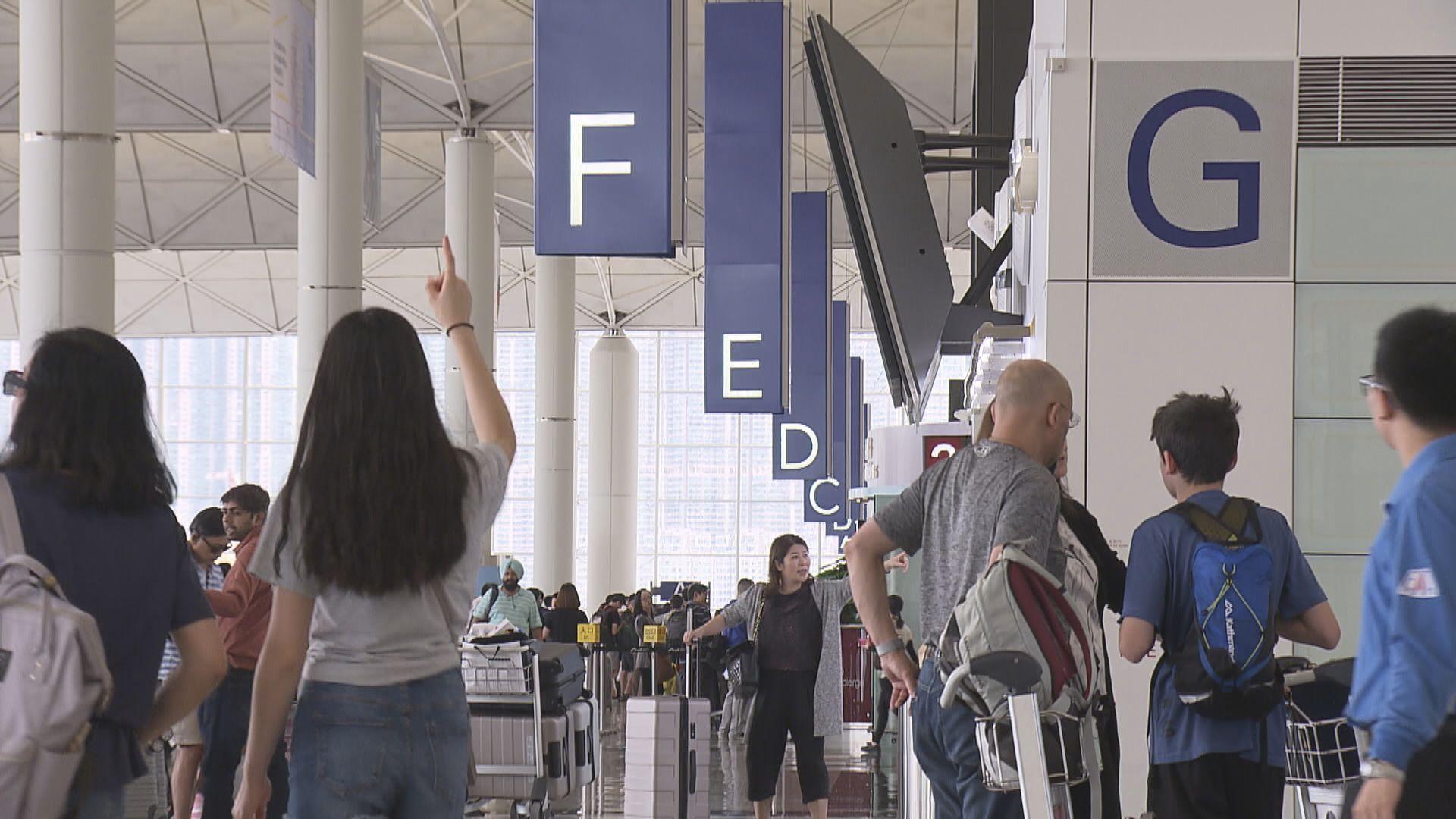 十月訪港旅客下跌近四成四