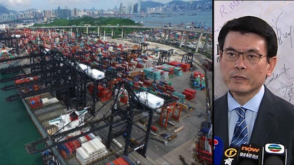 中美互相徵收關稅 邱騰華稱是倒退