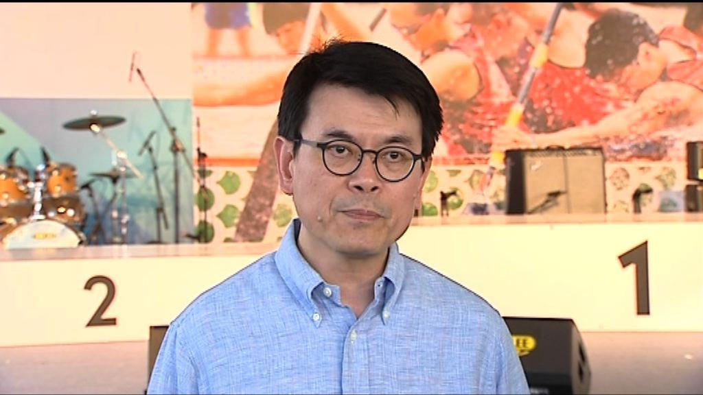邱騰華:冀新景點增加訪港旅客