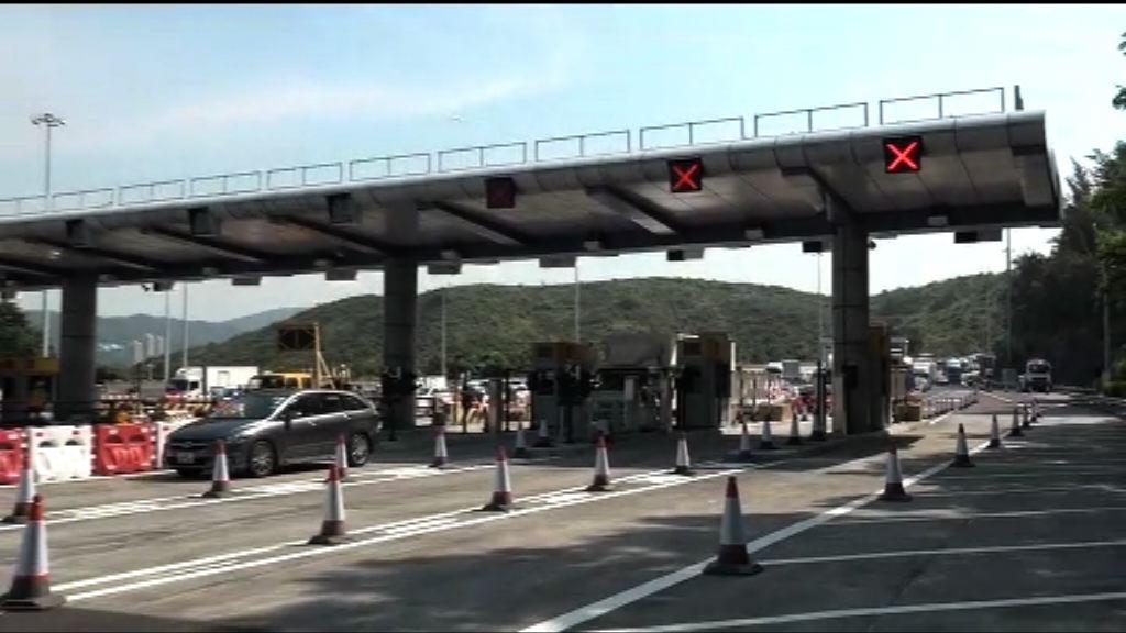 運輸署:因改道設施出問題導致混亂